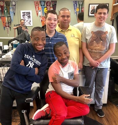 Barber Shop Haircuts Pictures 94