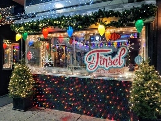 Tinsel, Phillys Pop-Up Christmas Bar, Back For 2019