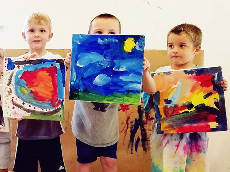 Pre K Storybook Art Series Continues In Long Valley With Artsi