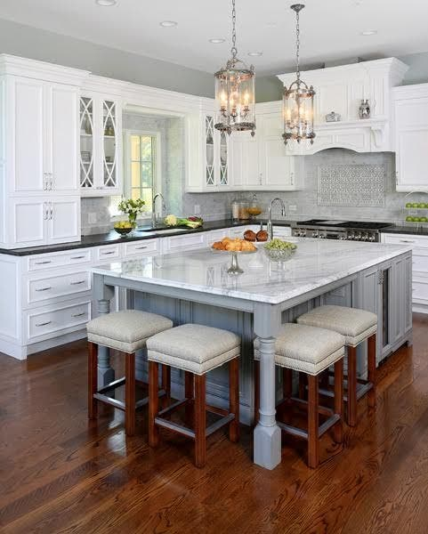 Hinsdale kitchen remodel the envy of professional - Kitchen center island ideas ...