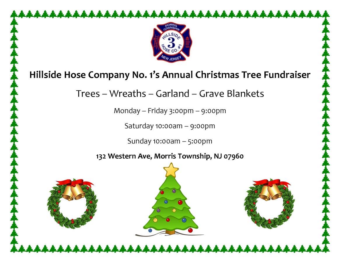 Christmas Fundraiser.Local Firehouse Holds Annual Christmas Tree Fundraiser
