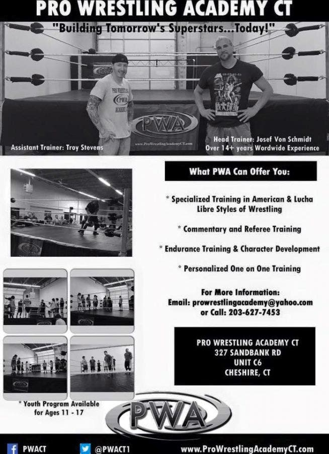 Pro Wrestling Training for Youth & Adult | Cheshire, CT Patch