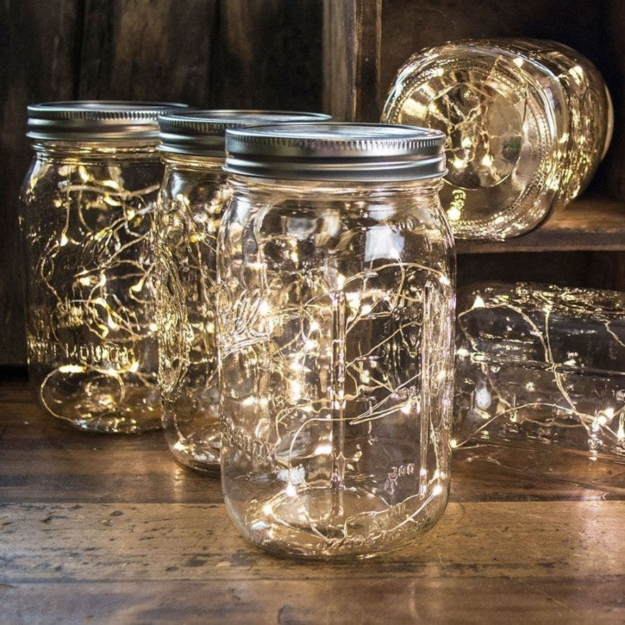 Crafty String Light Lanterns