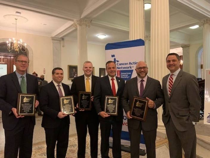 Lewis Receives Distinguished Advocacy Award For Cancer Policies