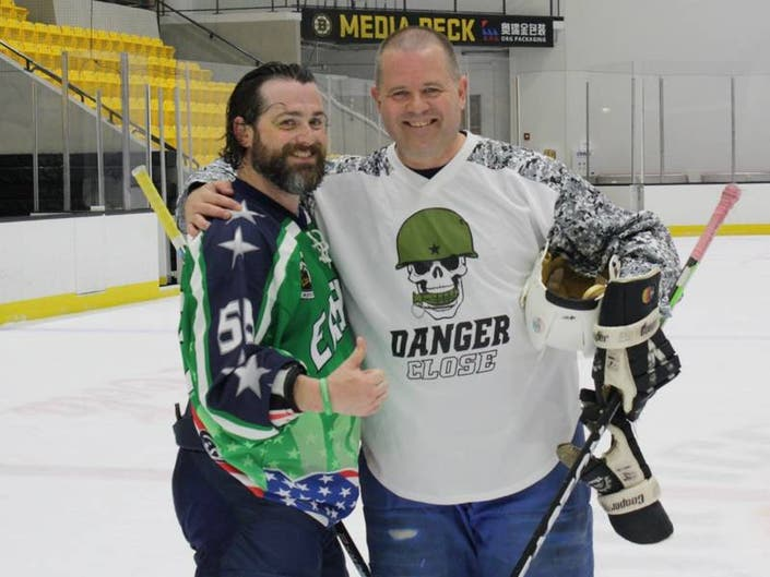 Representative Day Hosts Heroes vs. Hacks Hockey Game