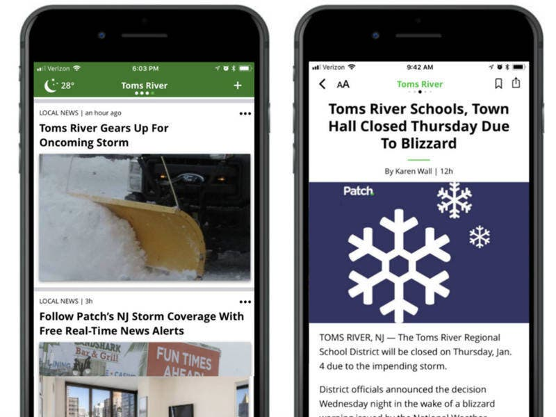 Download The New Patch App To Get Your Local News Faster | Across