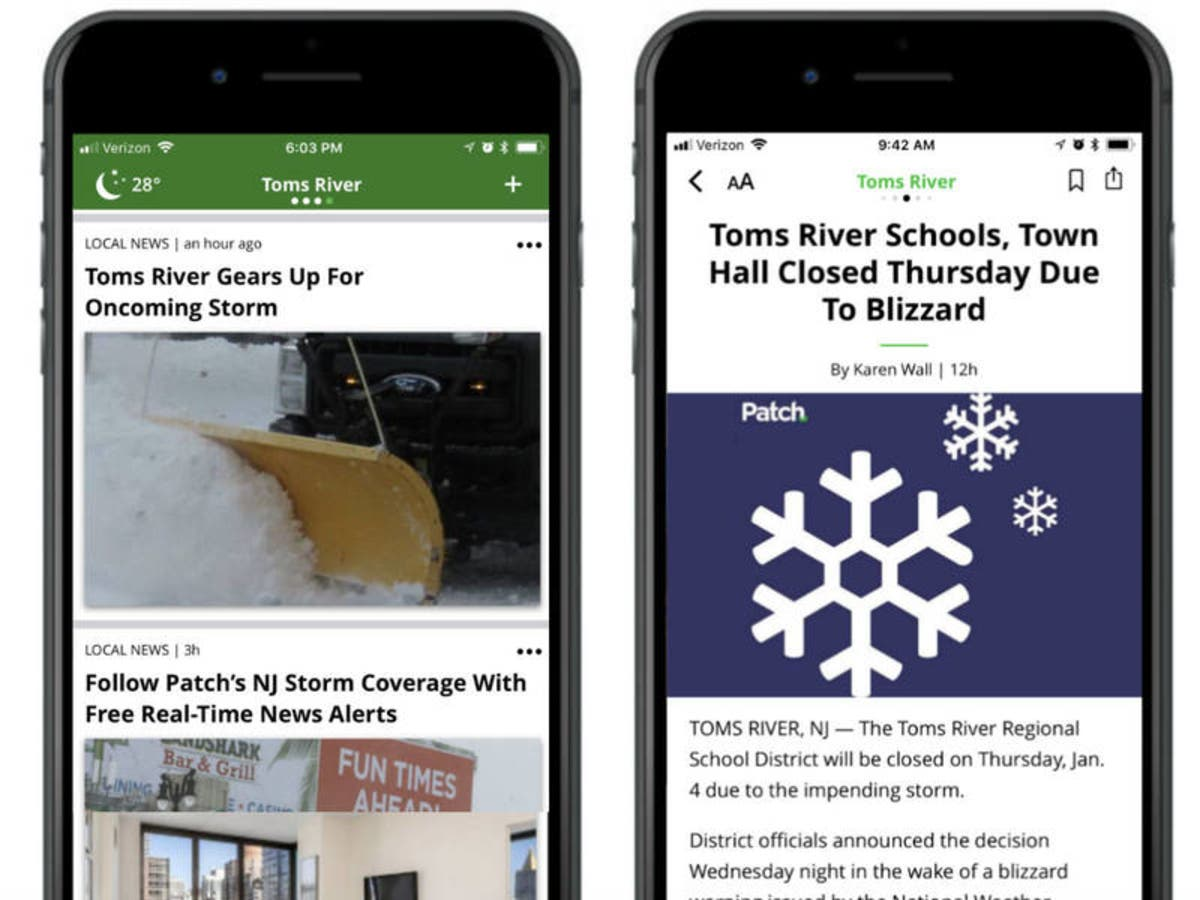 Download The New Patch App To Get Your Local News Faster