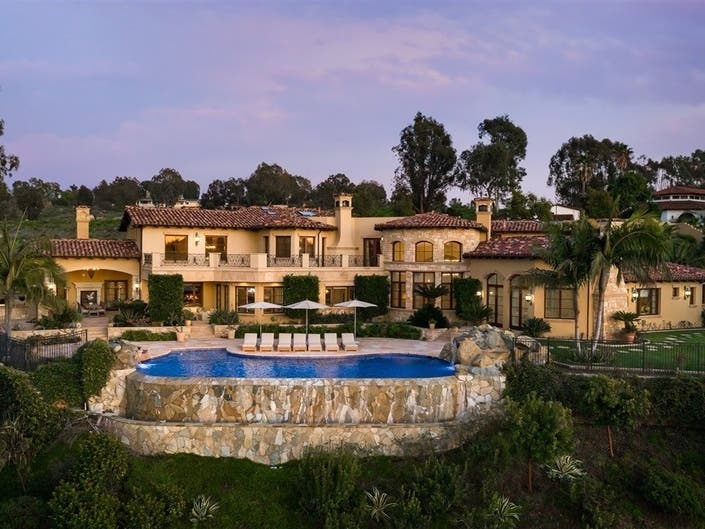 A Mediterranean-Style Masterpiece Can Be Yours In Rancho Santa Fe