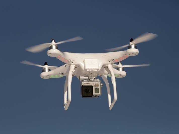 Uber Files Paperwork To Begin Food Delivery By Drone In San