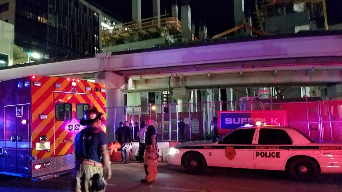 Construction Worker Killed In Metro Mover Accident Miami
