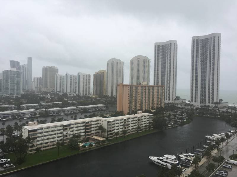 Miami Weather Gordon Brings High Winds And Flooding