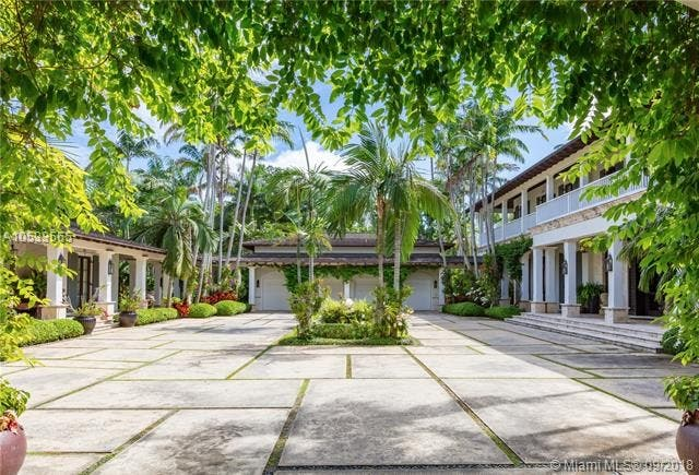 $45 Million Coral Gables Mansion Offers Storybook Setting