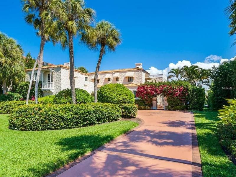 Fireproof Mediterranean Revival Home Was Sarasota First