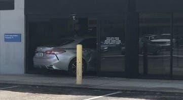 Car Crashes Into Sarasota Post Office | Sarasota, FL Patch