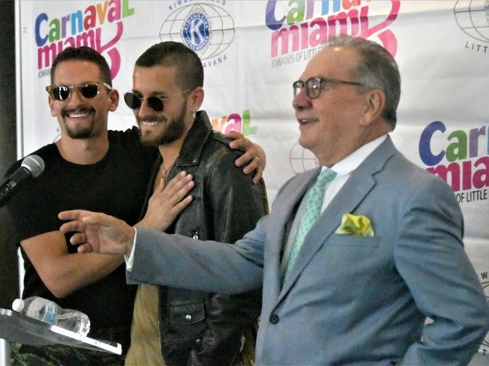 Calle Ocho Music Festival 2020: Torch Passes From Father To Sons