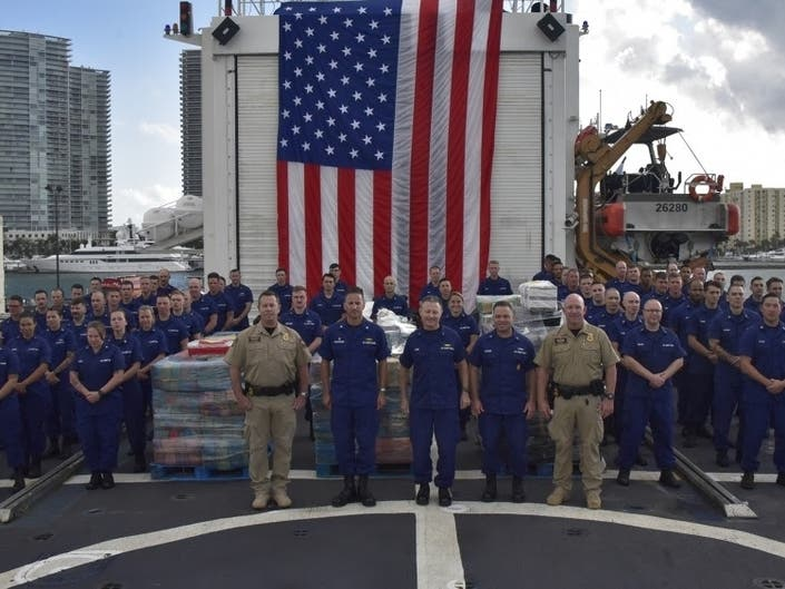 Coast Guard Offloads 6 Tons Of Cocaine In Miami