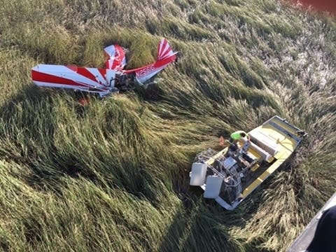 2 Rescued From Plane Crash In Florida Everglades Miami Fl Patch