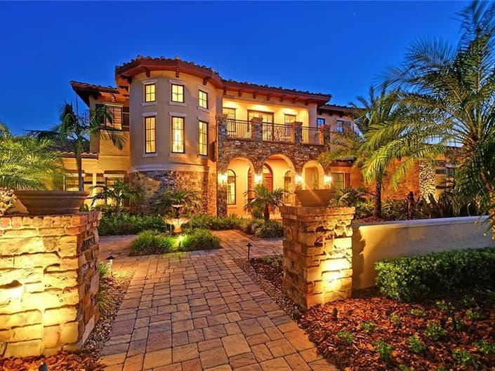 French Chateau In Lakewood Ranch