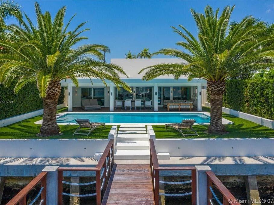 $2.45 Million Miami Beach Home Faces Exclusive Indian Creek
