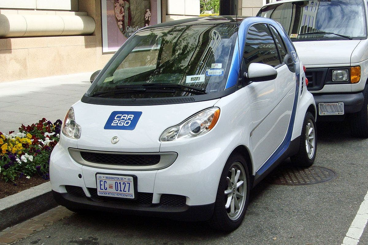 Car To Go Seattle >> Racist Sticker Discovered On Seattle Car2go Vehicle