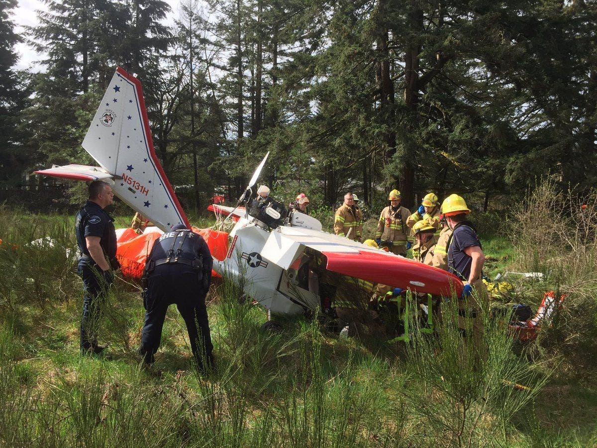 Pilot Injured In Plane Crash Near Spanaway Airport: Police