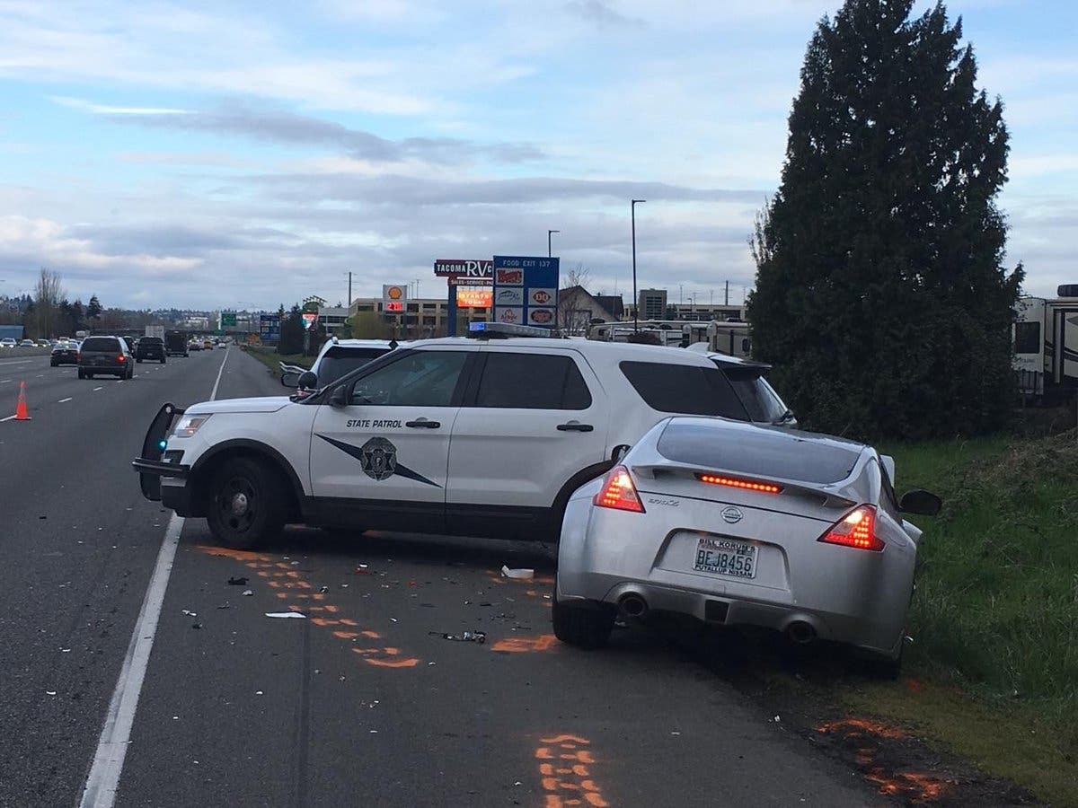 WA State Trooper Injured In Crash By Sleepy Driver