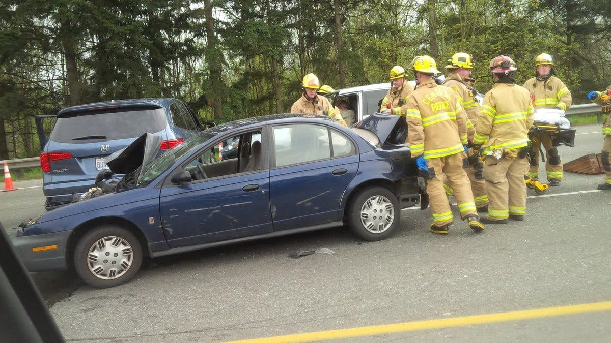 Accident Blocking SR 512 In Puyallup | Puyallup, WA Patch