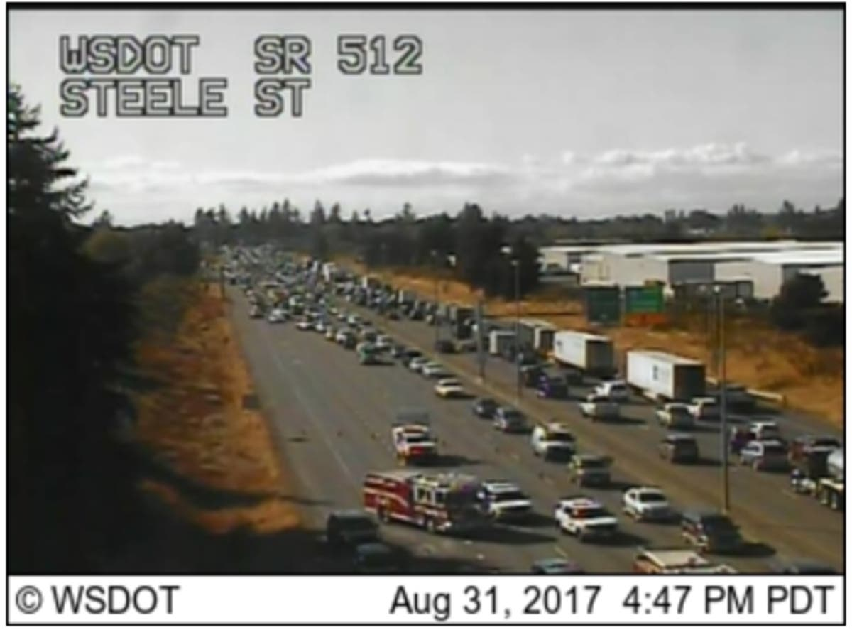 Puyallup Man Dies In Multi-Car Crash On 512 | Lakewood, WA Patch