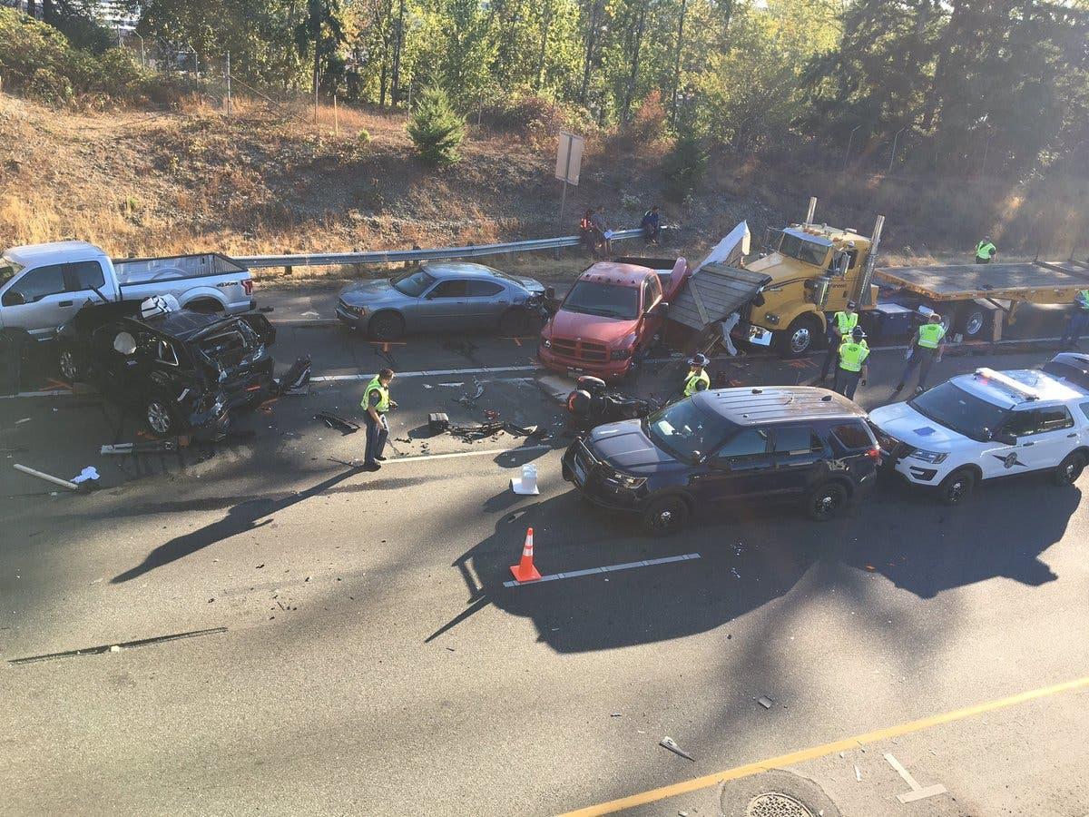 Puyallup Man Dies In Multi-Car Crash On 512 | Lakewood, WA Patch
