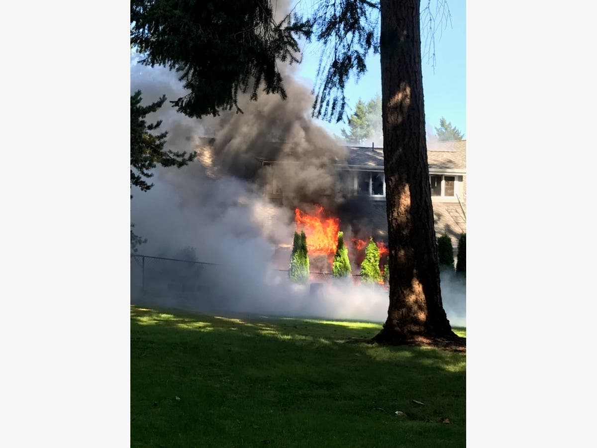 Garage Fire In Gig Harbor Blocks Road | Gig Harbor, WA Patch