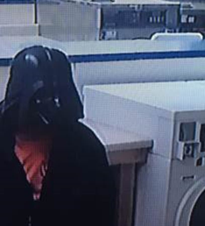 Darth Vader Wanted In Connection To Home Burglary | Across