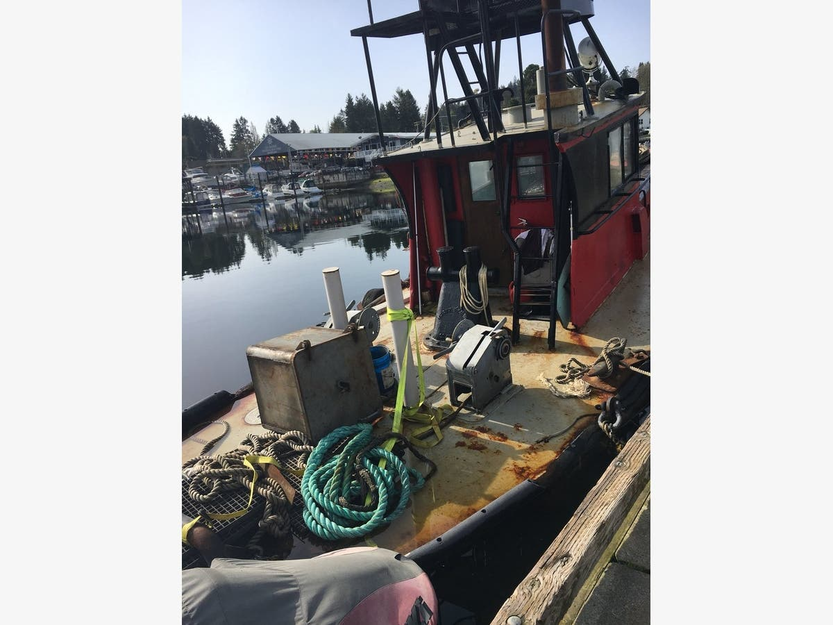 Sinking Tugboat In Gig Harbor Stable: Police | Gig Harbor