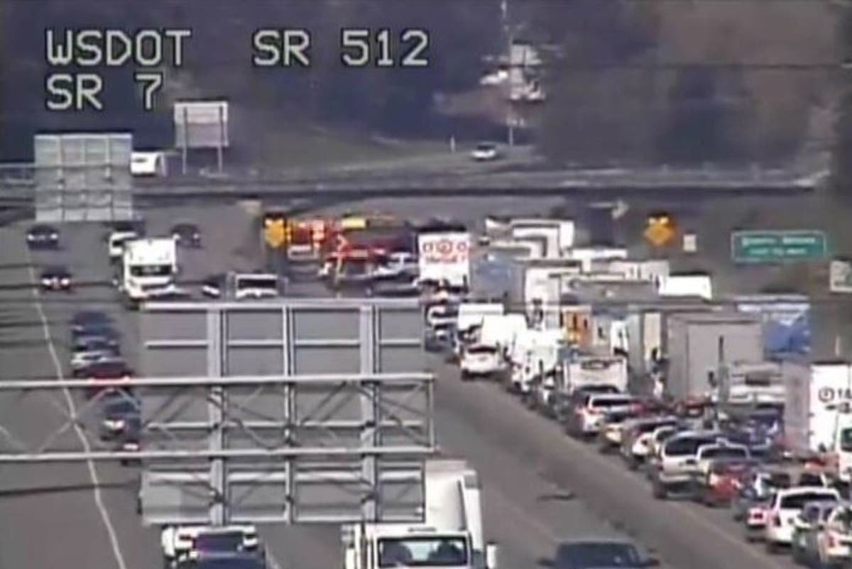 Distracted Driving Suspected In SR 512 Crash | Lakewood, WA Patch