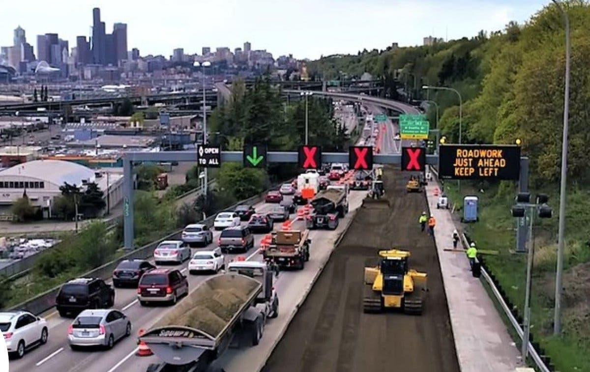 I-5 Closure Update: WSDOT Advises 'No Discretionary Travel