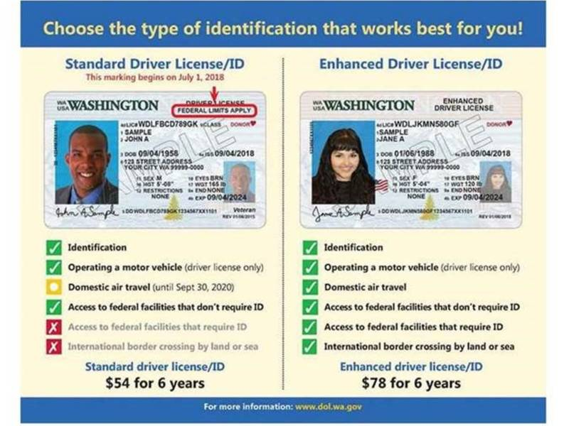 Across Big Wa Coming Washington Patch Ids For Licenses Change Driver Washington