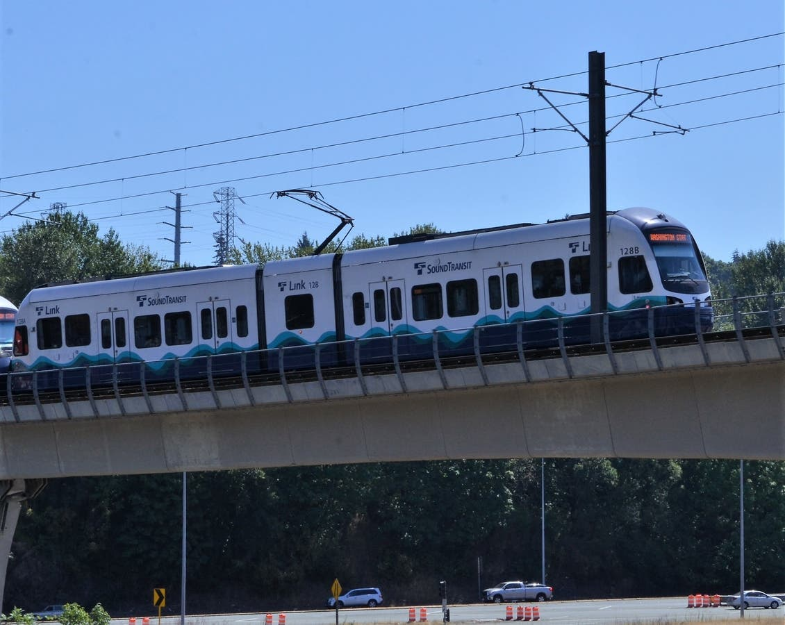 Cost Of Sound Transit S Light Rail Jumps By 460 Million Across Washington Wa Patch