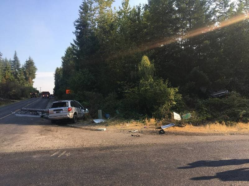 Police ID 3 Killed In Monday Crash, Brush Fire   Puyallup