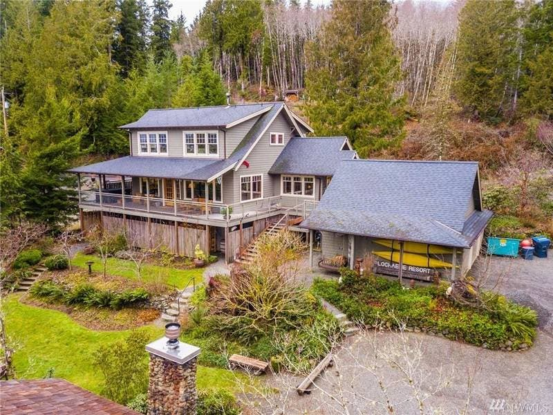 Resort In Olympic National Park Up For Sale: $1.75 Million