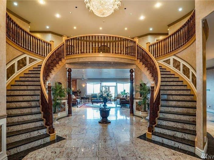 See Inside Om Shanti Mega-House On Lake Washington