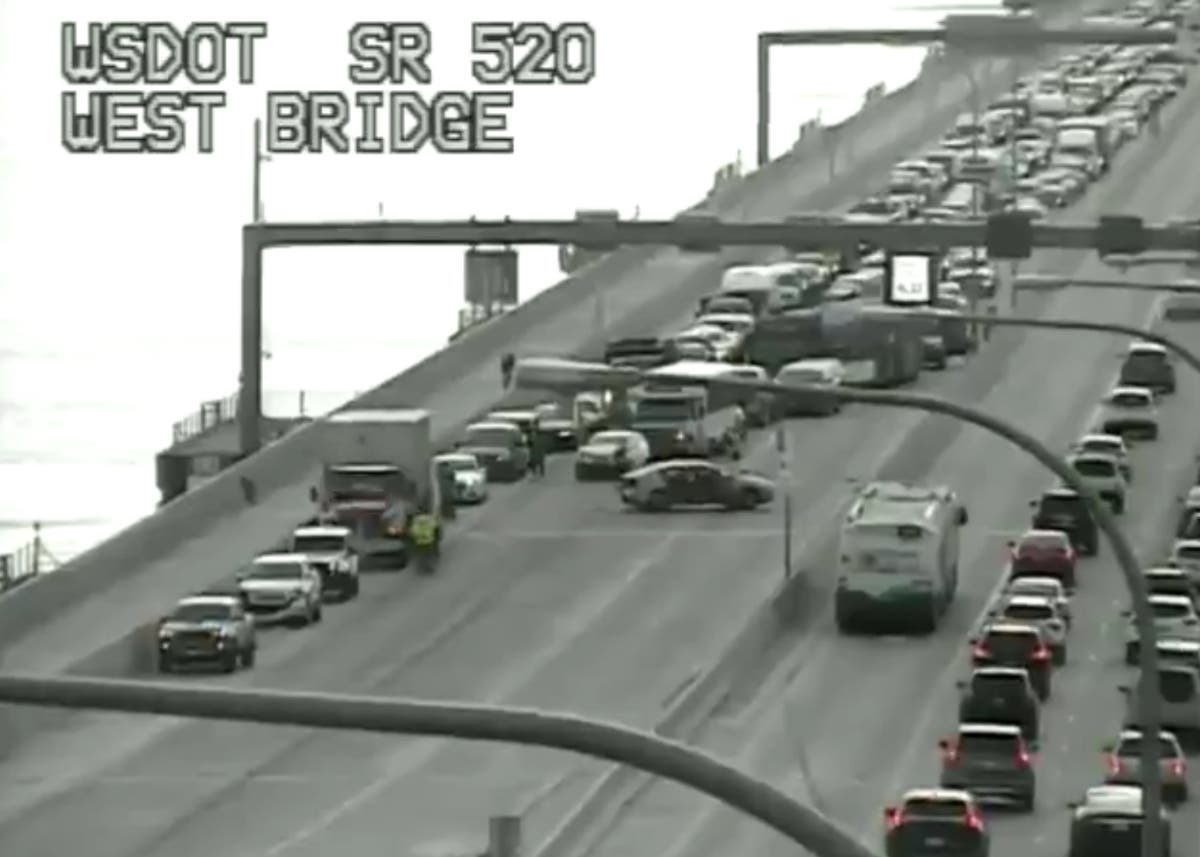 520 Bridge Crash Cleared, All Lanes Reopen | Bellevue, WA Patch