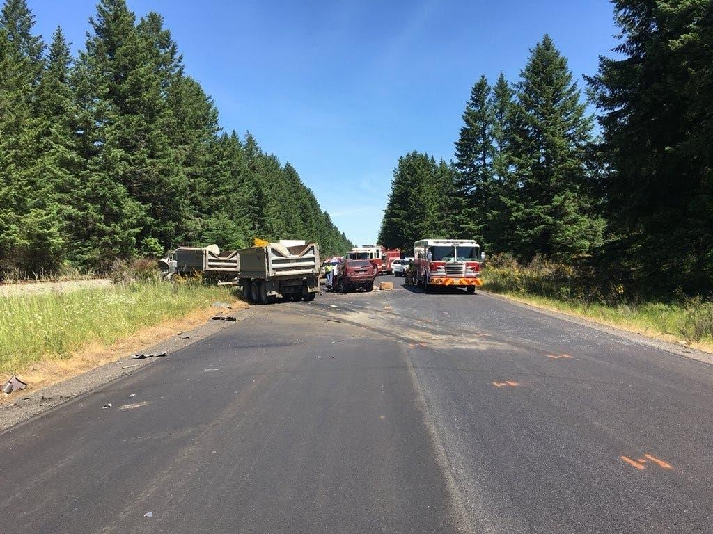 Puyallup Man Hurt In Deadly SR 507 Dump Truck Crash