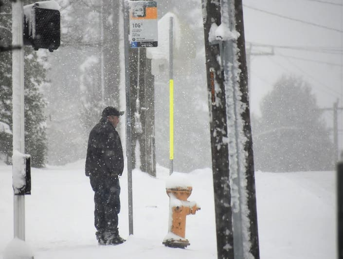 King County May Make Bus Rides Free During Snow In Seattle Area