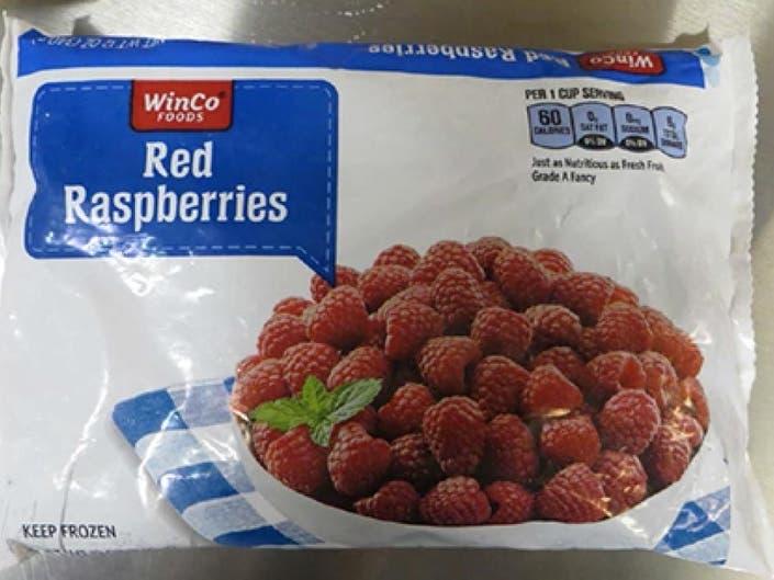 Raspberries Sold In Wash. Recalled Over Norovirus
