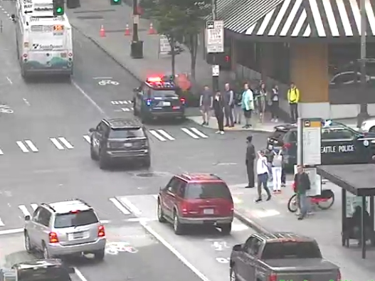3 Stabbed In Downtown Seattle, Police Arrest Nude Man