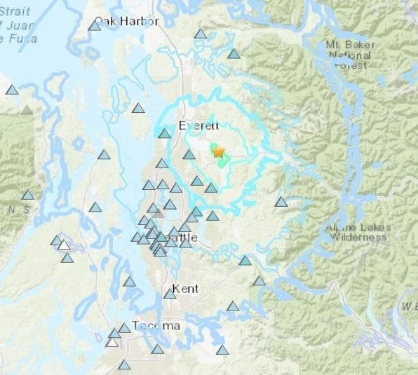 4.6 Earthquake Hits Seattle Area, Strongest In 18 Years