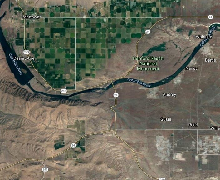 Wildfire Near Hanford Reach Now 15,000 Acres: BLM