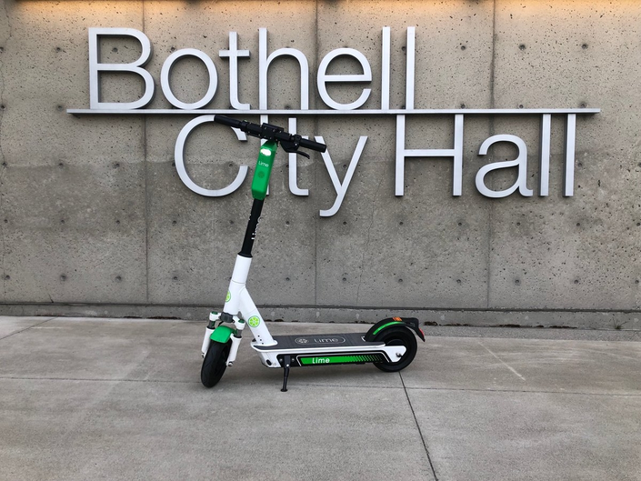 You Can Try A Lime Scooter In Bothell Starting Today