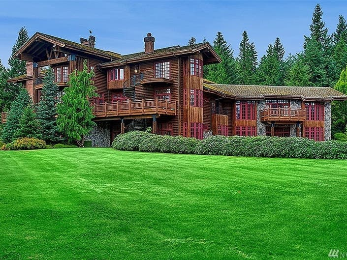 Need A 21,000 Square-Foot Home? Theres One In Anacortes