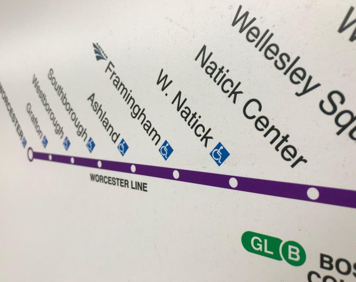 Weekend Trains Return To Framingham-Worcester MBTA Line