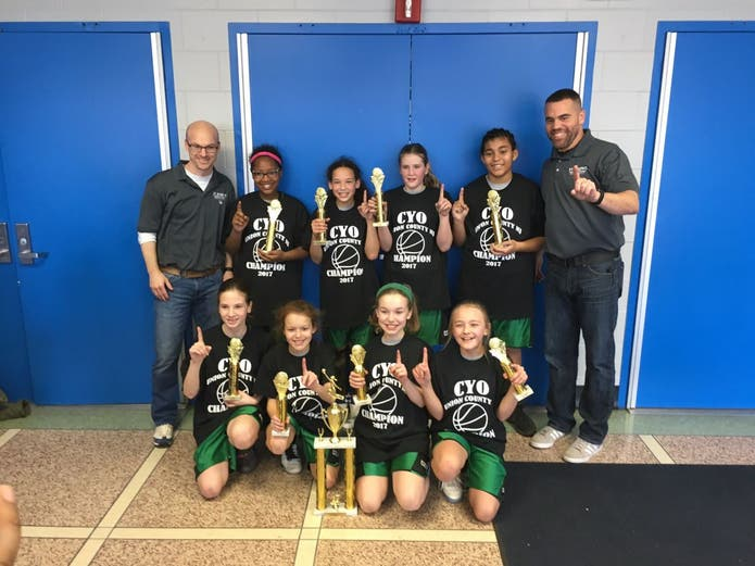 St. Joseph's CYO Basketball Teams Give It Their All in ...